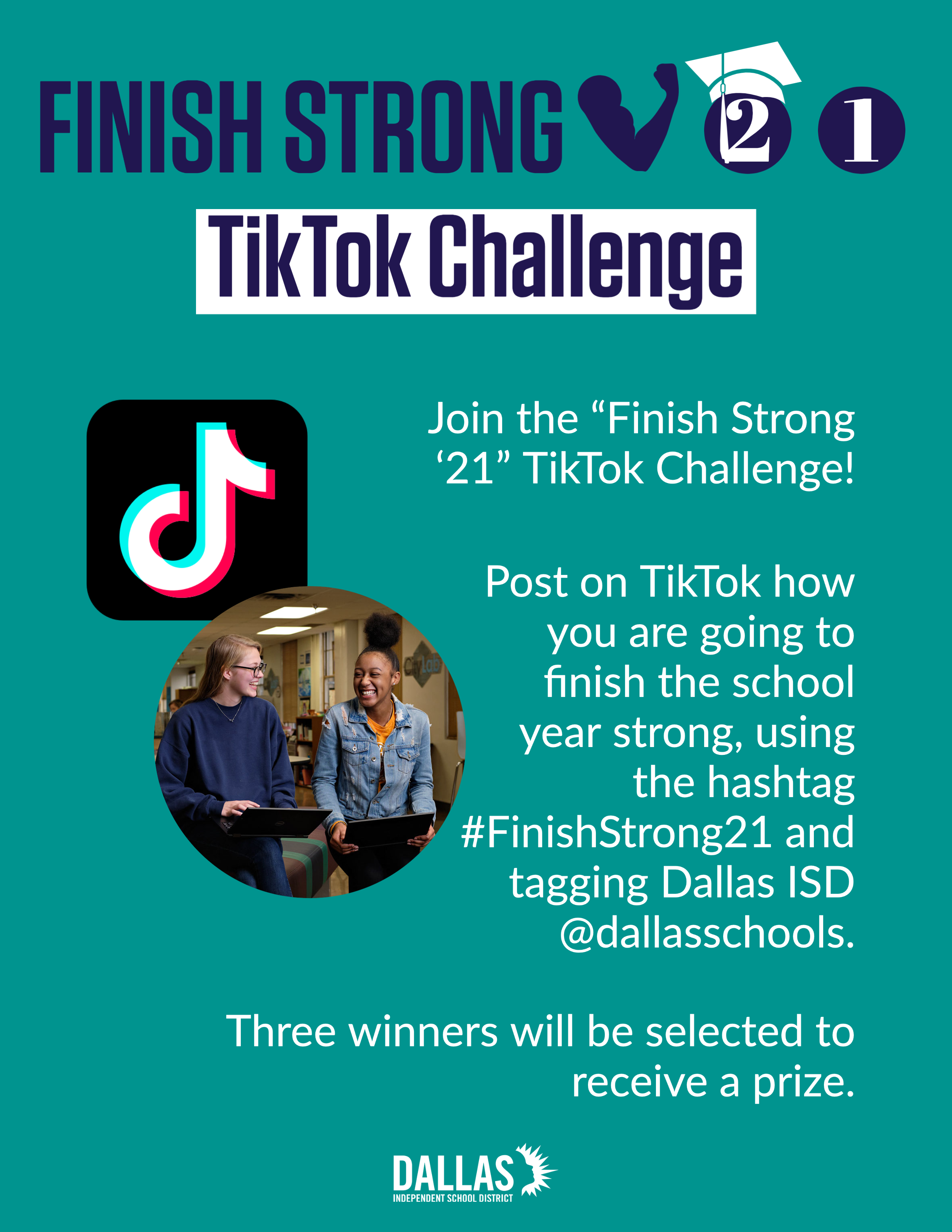 Finish Strong TikTok Challenge for Class of 2021