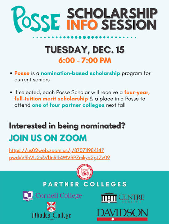 Posse Scholarship Info Session
